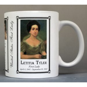 Letitia Tyler First Lady history mug.