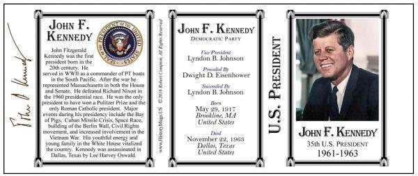 35-Kennedy, John F-Tri-Panel-SEAL