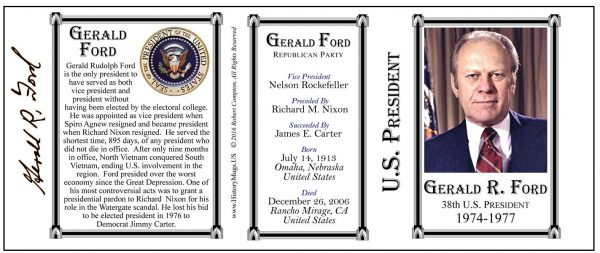 38-Gerald Ford- Tri-Panel-SEAL
