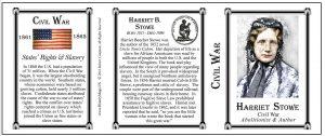 Stowe, Harriet Beecher-Tri Panel-COLOR
