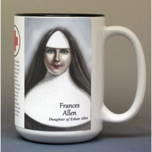 Fanny Allen, Vermont history biographical mug.