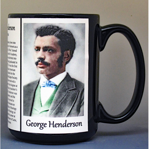 George Washington Henderson, theologian biographical history mug.