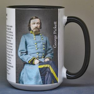 George Pickett, US Civil War history mug.
