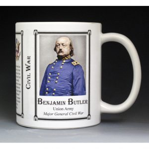 Benjamin Butler, Civil War Union Army history mug.
