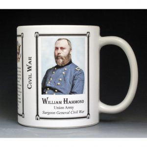 William Hammond Civil War Union Army history mug.