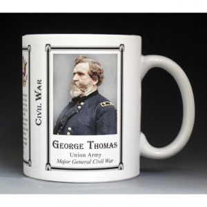 George H. Thomas Civil War Union Army history mug.