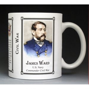 James Ward Civil War Union Army history mug.