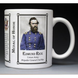 Edmund Rice Medal of Honor history mug.