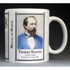 Thomas Seaver, Medal of Honor history mug.
