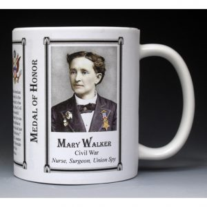Mary Walker, Medal of Honor mug