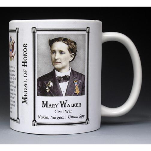 Mary Walker, Medal of Honor mug