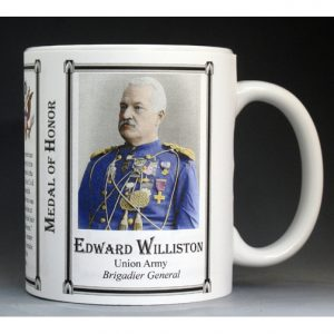 Edward Williston, Medal of Honor history mug.