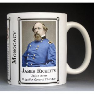James Ricketts, Monocacy mug