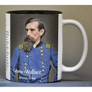 Lewis Wallace, Battle of Monocacy biographical history mug.