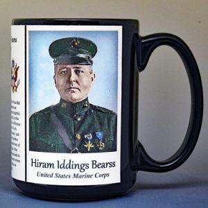 Hiram Iddings Bearss Medal of Honor biographical history mug.