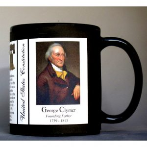 George Clymer US Constitution history mug.