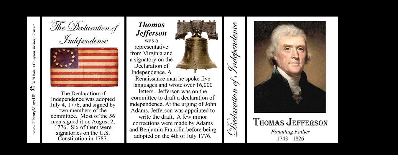 Jefferson Thomas Declaration Of Independence