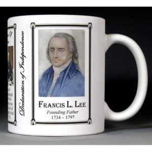 Francis Lightfoot Lee Declaration of Independence signatory history mug.