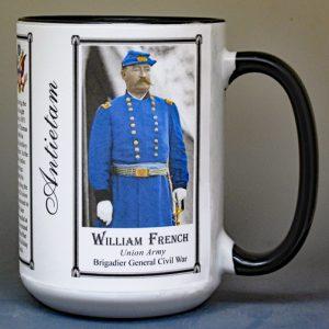 William French, Battle of Antietam history mug.