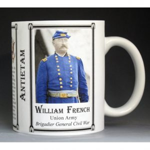 William French, Antietam history mug.