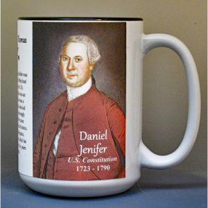Daniel of St. Thomas Jenifer, US Constitution signatory biographical history mug.