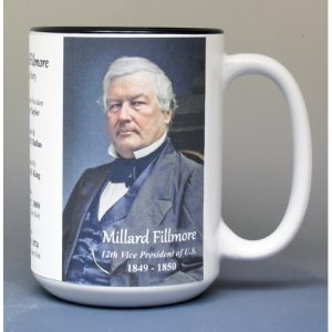 12th US Vice President Millard Fillmore