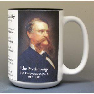 14th US Vice President John Breckinridge