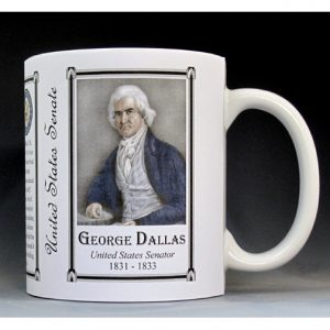 George Dallas US Senator history mug.