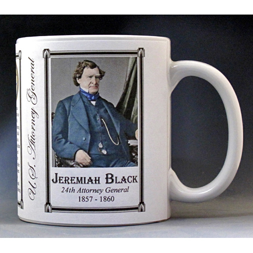 Jeremiah Black US Attorney General history mug.