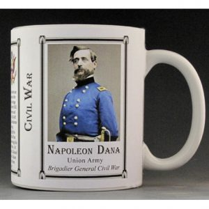 Napoleon Dana Civil War Union Army history mug.