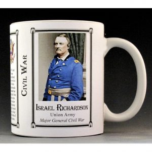 Israel Richardson Civil War Union Army history mug.