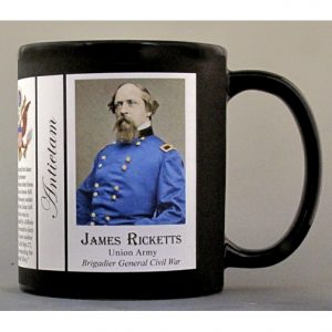 James Ricketts, Antietam history mug.