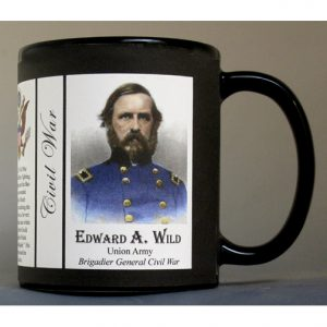 Edward A. Wild Civil War Union Army history mug.