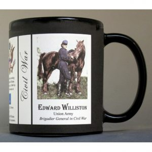 Edward Williston Civil War Union Army history mug.