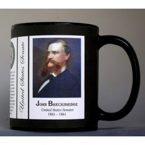 John Breckinridge US Senator history mug.
