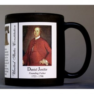 Daniel of St. Thomas Jenifer US Constitution history mug.