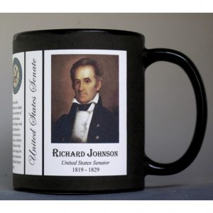 Richard Johnson US Senator history mug.