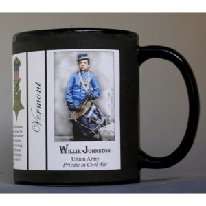 Willie Johnston Vermont history mug.