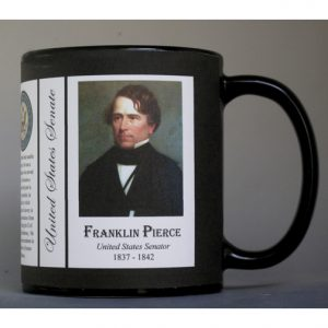 Franklin Pierce US Senator history mug.