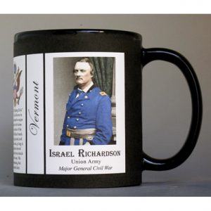 Israel Richardson Vermont history mug.