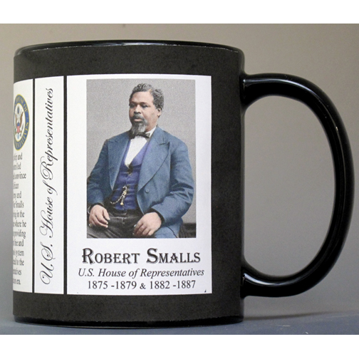 Robert Smalls US Representative history mug.