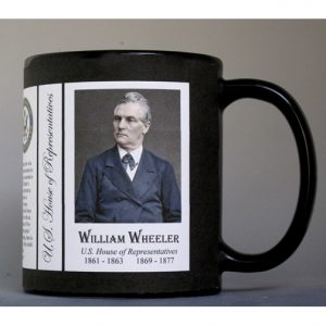 William Wheeler US Representative history mug.