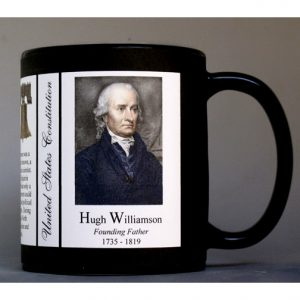 Hugh Williamson US Constitution history mug.