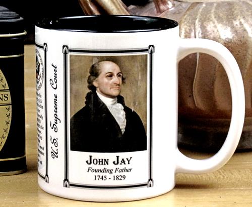 John Jay history mug.