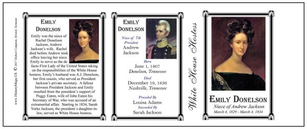 Emily Donelson  US First Lady history mug tri-panel.stess