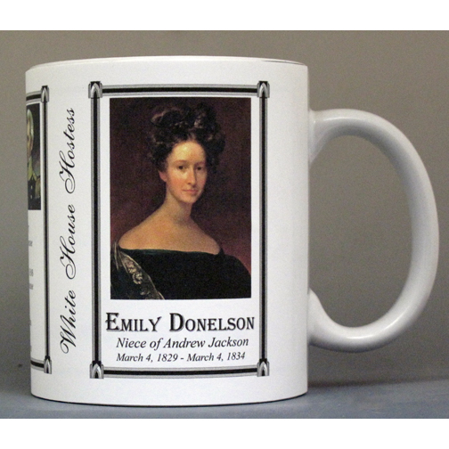 Emily Donelson US First Lady history mug.