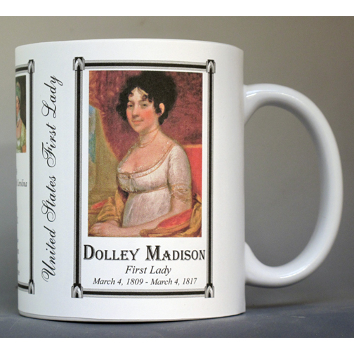 Dolley Madison First Lady