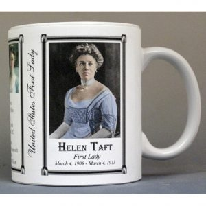Helen Taft US First Lady history mug.