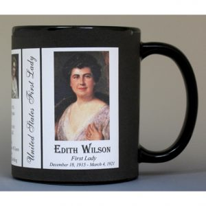 28- Edith Wilson, First Lady