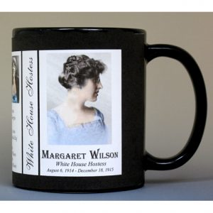 Margaret Wilson White House Hostess history mug.